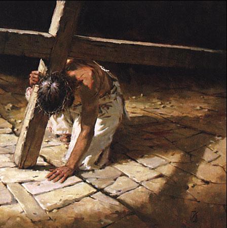 Jesus Carrying Cross II (4-13-11)