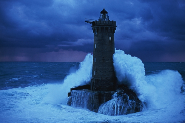 Lighthouse In Storm (10-1-13)