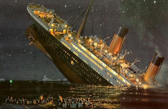 titanic sinking (1-6-14)