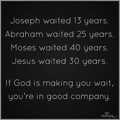 Waiting On God (3-10-15)