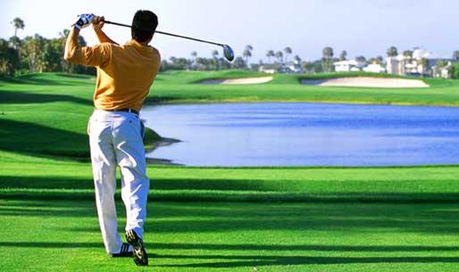 Golfer Swinging (6-11-15)