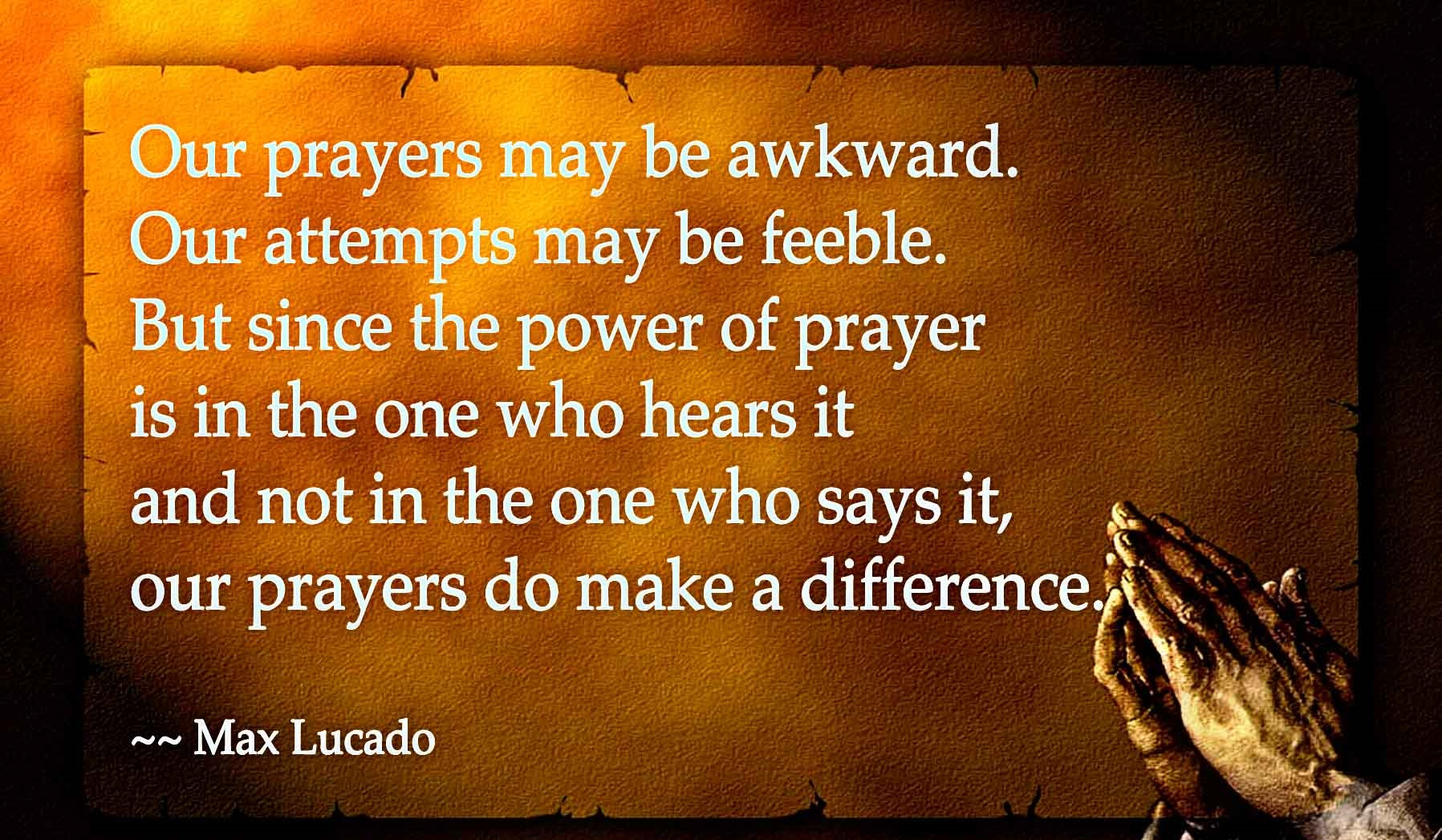 Thoughts On Prayer (Part I)… | soulspartan