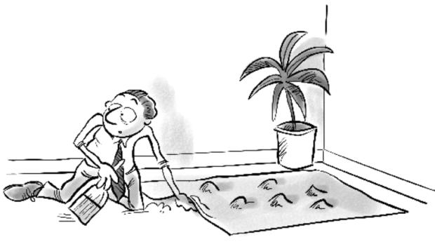 sweeping under rug (4-20-18)